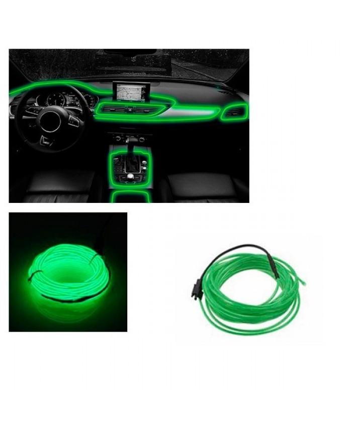 Εύκαμπτο φωτιζόμενο καλώδιο Neon Πράσινο Diommi 08009
