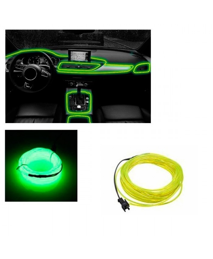 Εύκαμπτο φωτιζόμενο καλώδιο Neon Πράσινο Φωσφορούχο Diommi 08002