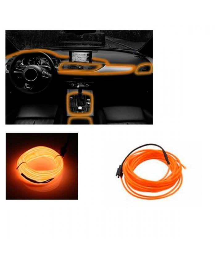 Εύκαμπτο φωτιζόμενο καλώδιο Neon Πορτοκαλί Diommi 08001