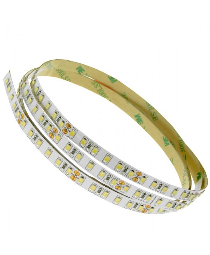 Ταινία LED Λευκή Professional Series 5m 8W/m 24V 120LED/m 2835 SMD 1400lm/m 120° IP20 Φυσικό Λευκό 4500k Diommi 63031