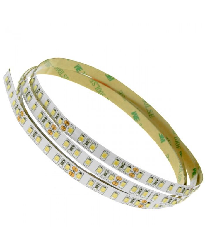 Ταινία LED Λευκή Professional Series 5m 8W/m 24V 120LED/m 2835 SMD 1360lm/m 120° IP20 Θερμό Λευκό 3000k Diommi 63030