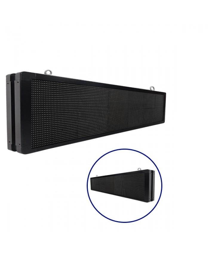 Αδιάβροχη Κυλιόμενη Επιγραφή SMD LED 230V USB & WiFi RGB Διπλής Όψης 168x40cm Diommi 90130