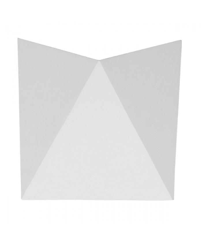 LED Φωτιστικό Τοίχου Απλίκα STEALTH Αρχιτεκτονικού Φωτισμού Λευκό IP65 10 Watt CREE 1100lm 60° 230V Φυσικό Λευκό Diommi 96502