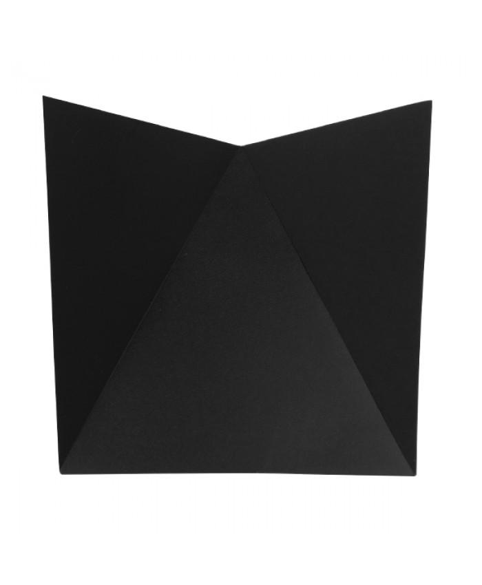 LED Φωτιστικό Τοίχου Απλίκα STEALTH Αρχιτεκτονικού Φωτισμού Μαύρο IP65 10 Watt CREE 1200lm 60° 230V Ψυχρό Λευκό Diommi 96506