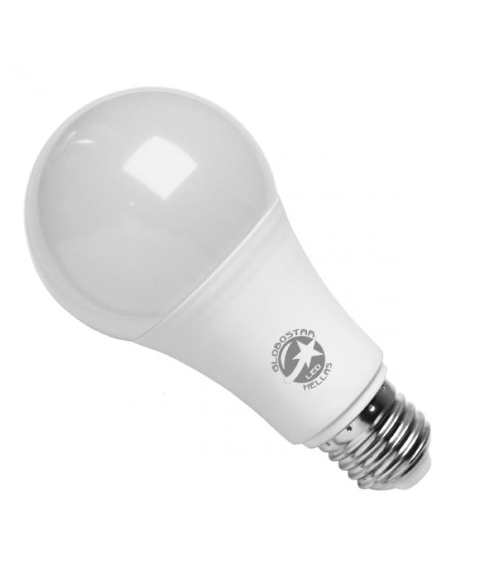 Λάμπα LED E27 A65 Γλόμπος 10W 230V 970lm 260° με Αισθητήρα Κίνησης Φυσικό Λευκό 4500k Diommi 01680