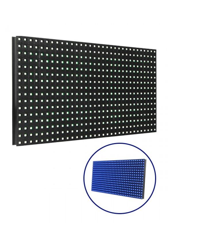 Ανταλλακτικό Panel Module P10 SMD 2835 32x16cm για Κυλιόμενη Πινακίδα LED Μπλε Αδιάβροχο IP65 Diommi 91103