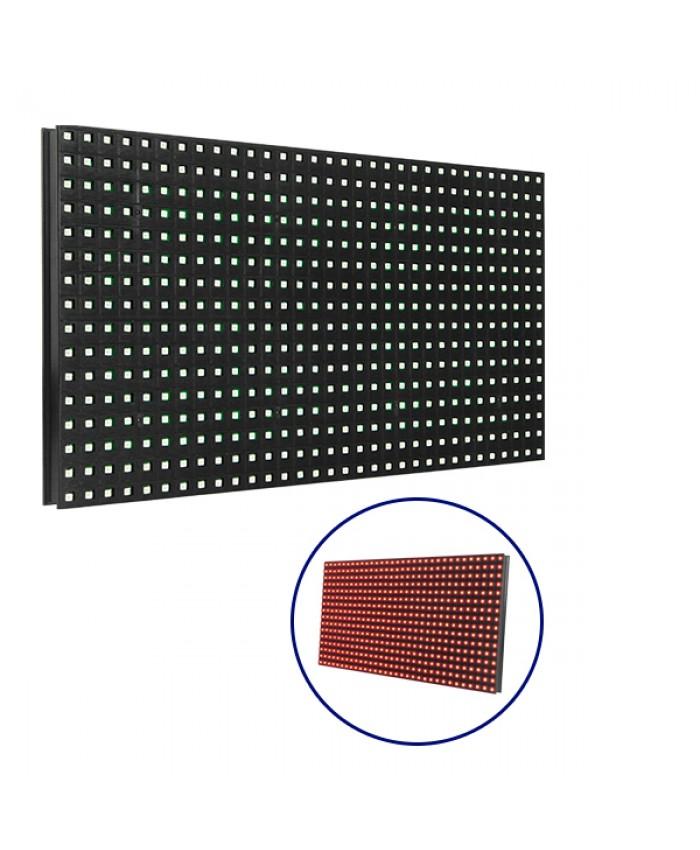 Ανταλλακτικό Panel Module P10 SMD 2835 32x16cm για Κυλιόμενη Πινακίδα LED Κόκκινο Αδιάβροχο IP65 Diommi 91100