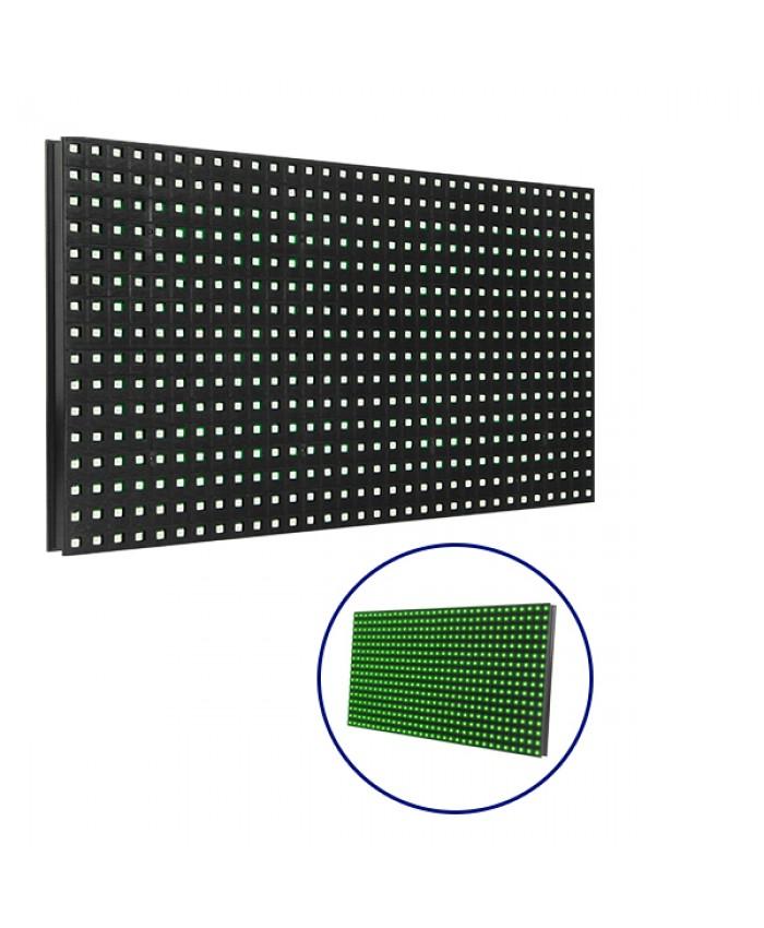 Ανταλλακτικό Panel Module P10 SMD 2835 32x16cm για Κυλιόμενη Πινακίδα LED Πράσινο Αδιάβροχο IP65 Diommi 91101
