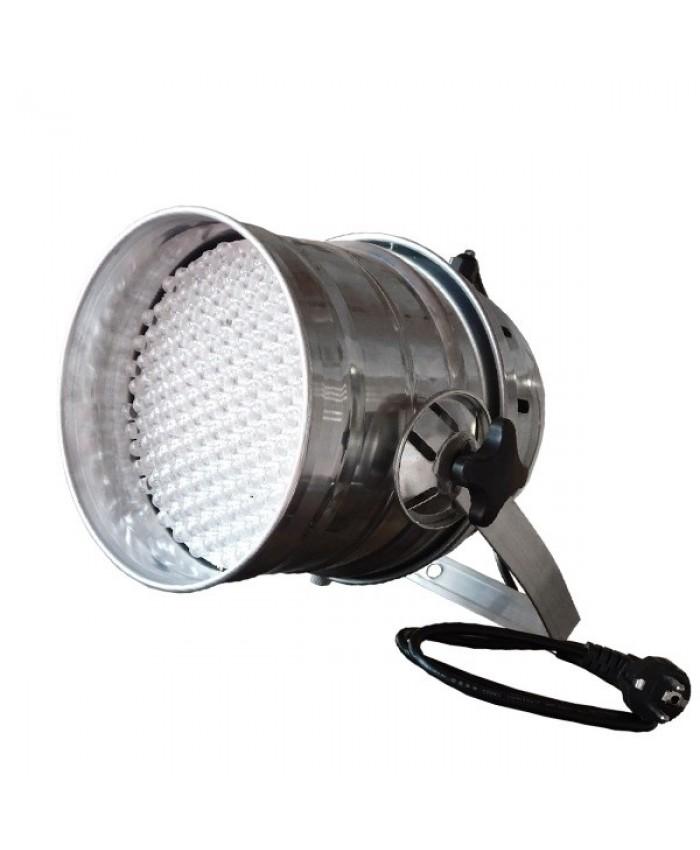 Επαγγελματική Κεφαλή PAR 177 LED 20W 230V 60° DMX512 Ασημί Χρώμα RGB Diommi 51118