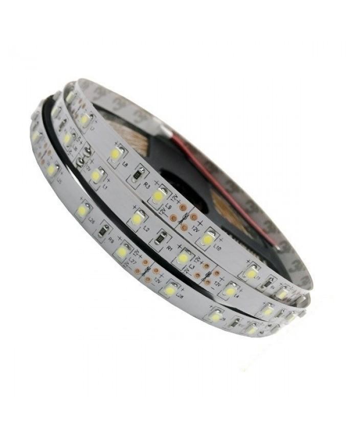 Ταινία LED Λευκή Professional Series 5m 4.8W/m 12V 60LED/m 2835 SMD 390lm/m 120° IP20 Ψυχρό Λευκό 6000k Diommi 23730